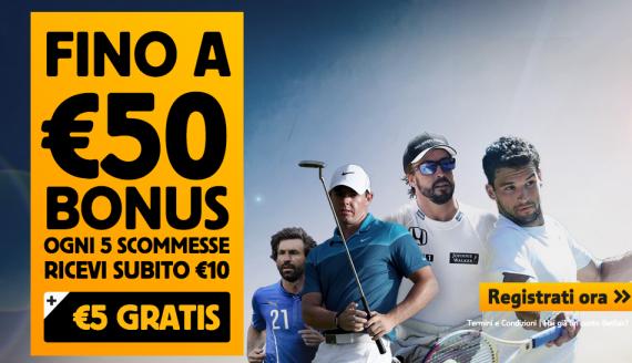bonus betfair 50 euro