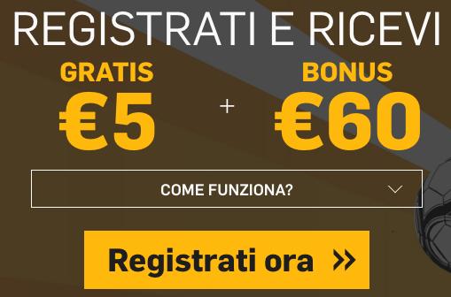 bonus betfair 65 euro