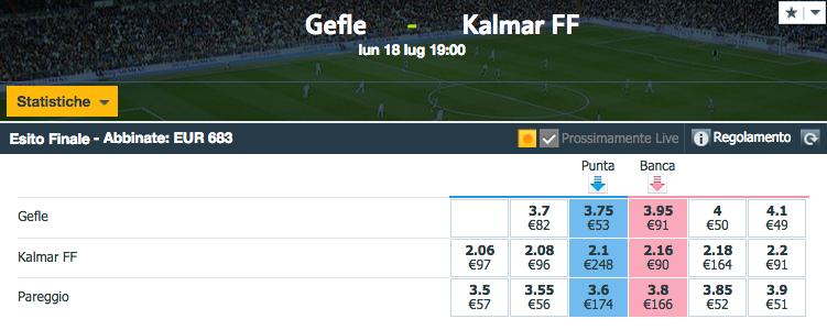 Gefle - Kalmar FF